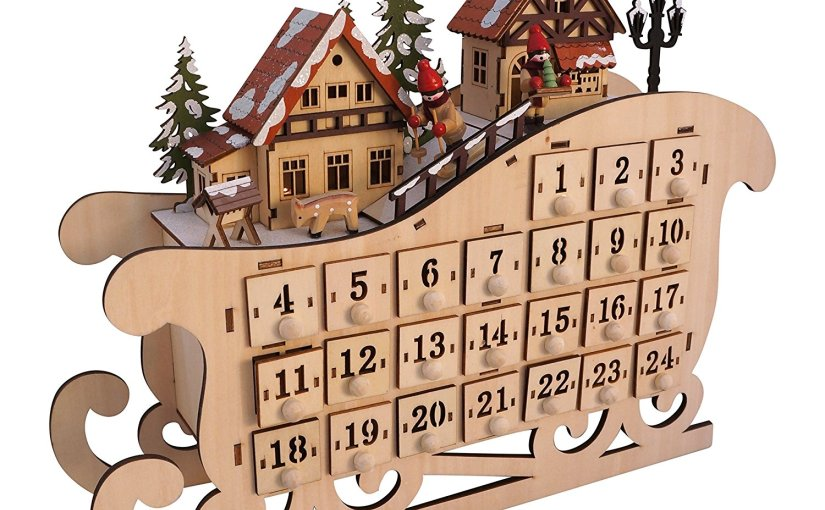 Adult Advent Calendar 2017, 2018