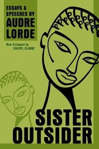 Sister Outsider by Audre Lorde Book Cover