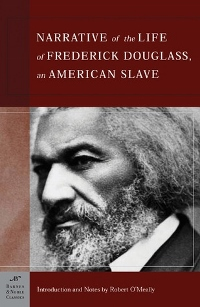 Narrative of the Life of Frederick Douglass by Frederick Douglass Book Cover