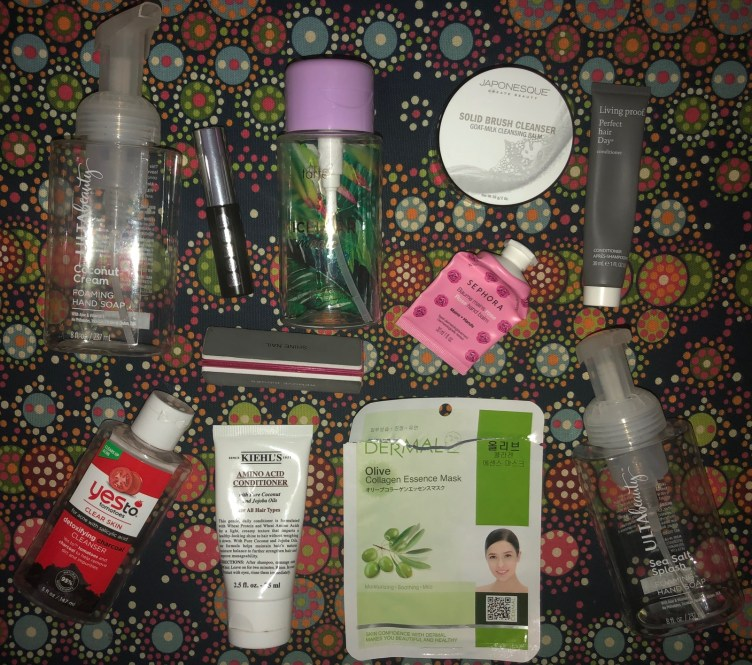 March 2020 Empties - Mehs