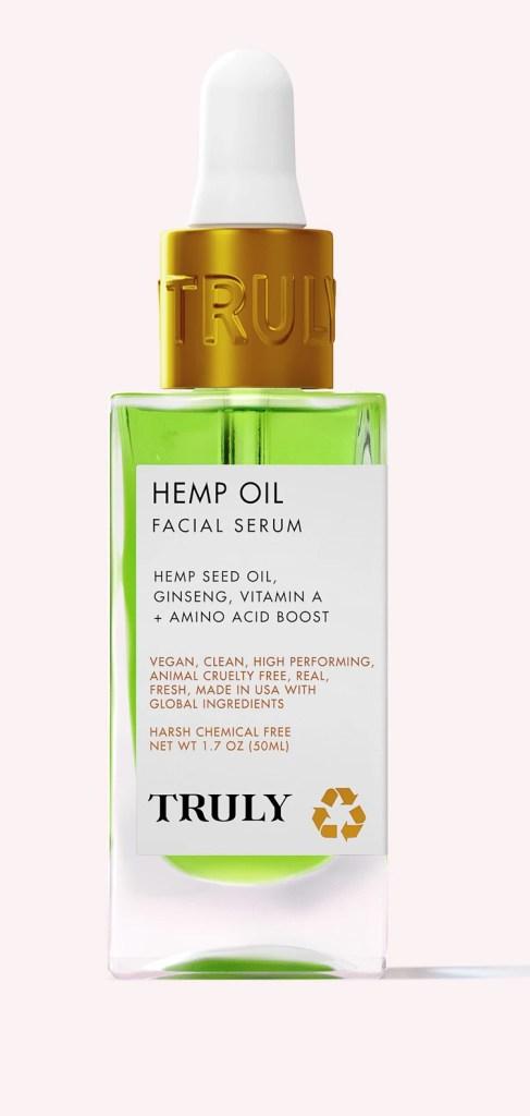 Truly Hemp Oil Facial Serum