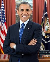 Barack Obama Official White House Portrait