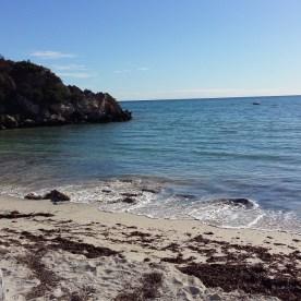 Kleiner Strand auf dem Weg nach Kalbarri