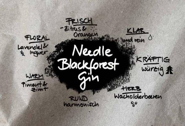 Needle Gin: alle Aromen in der Übersicht