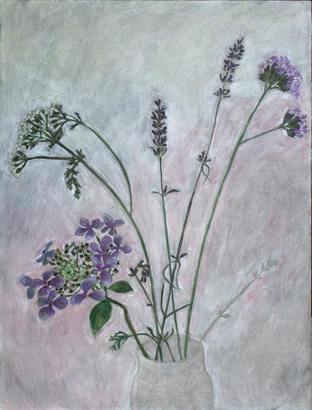 hortensia, verbena, persicaria VERKOCHT