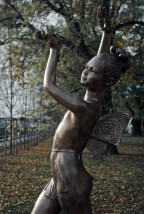 ....a statue of a fairy... dedicated to all kids, that are not longer with us..........