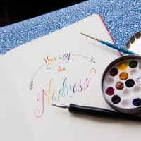 Committed to the Madness (Hand Lettering Part 2)