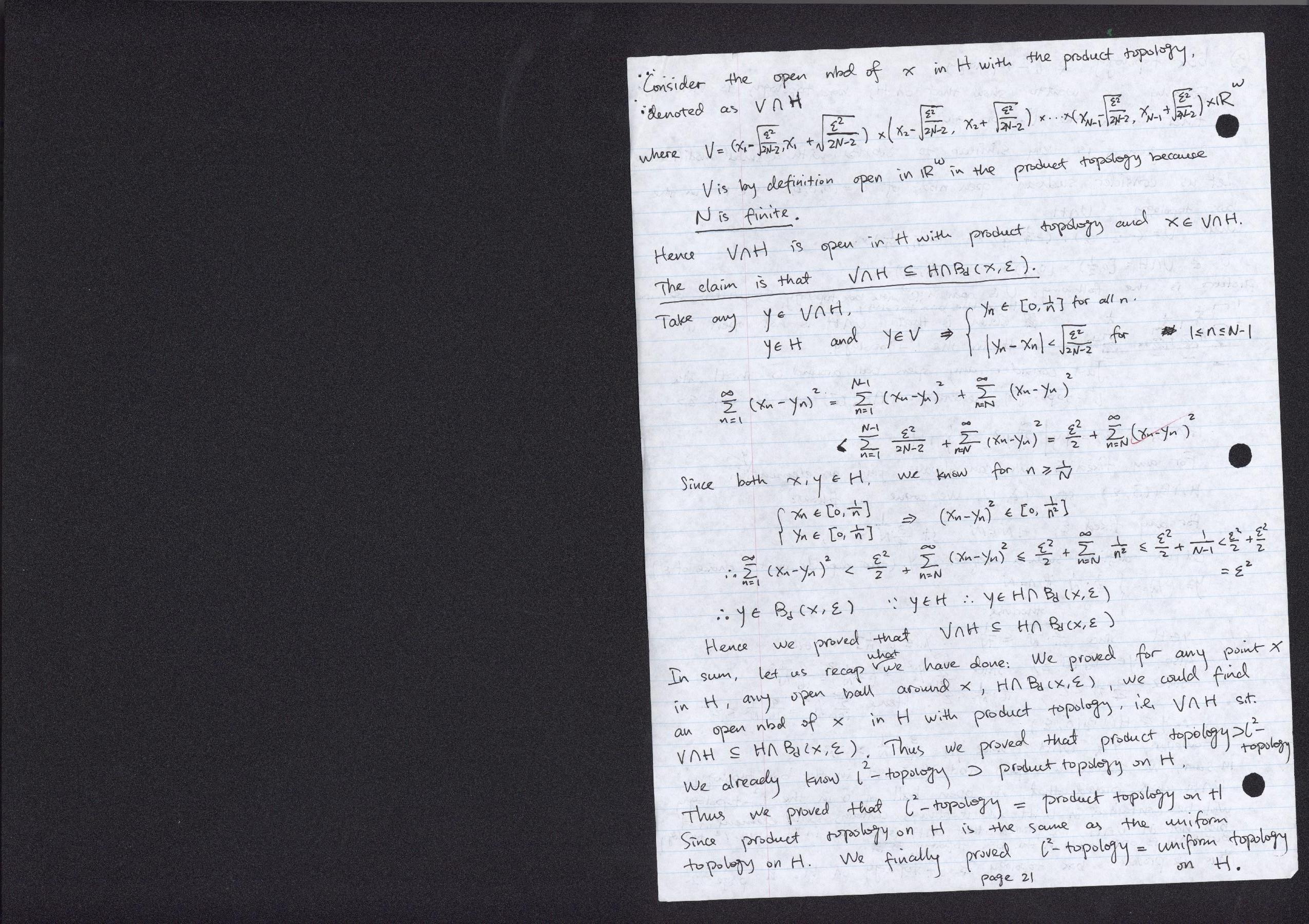 10 327 Homework Assignment 3 Solutions