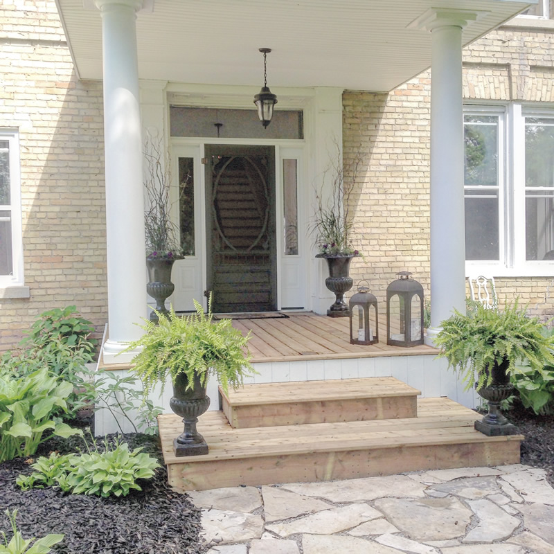 Front Porch Transformations