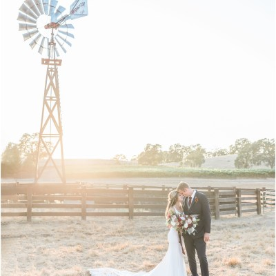 Cierra and Justin | Rancho Victoria Vineyards
