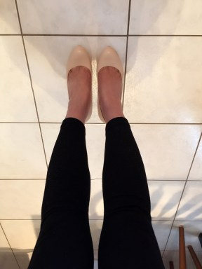 I love the slim and straight look of my feet!