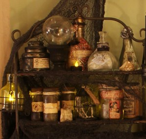 apothecary top left shelf