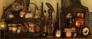 apothecary top shelf