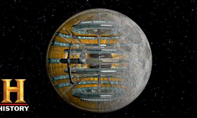 Αρχαίοι εξωγήινοι: Διαστημικός σταθμός – Σελήνη