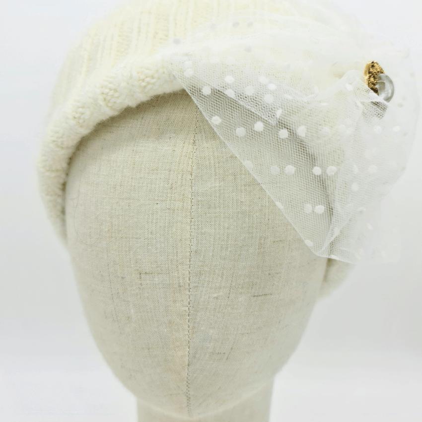Bonnet - Blanche - Katoushti