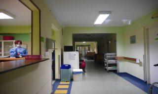 Zakład pielęgnacyjno-opiekuńczy w Szpitalu Murcki.