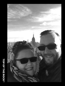 Selfie on Top of The Rock
