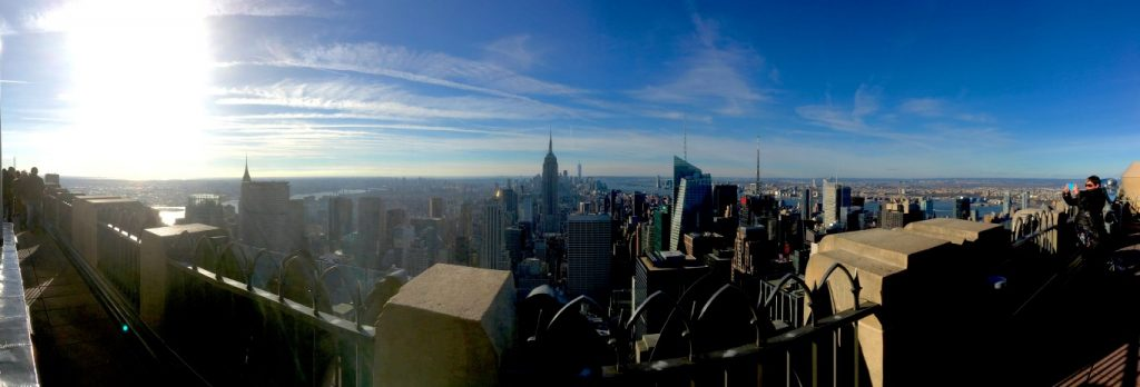 View South from Top of the Rock