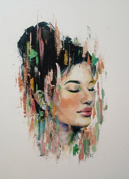 """Acrylic on canvas 18""""x 24"""""""