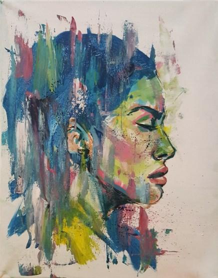 """Acrylic on canvas 12"""" x 20"""""""
