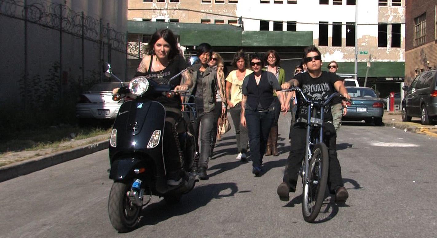 "Hooray for Goodbye ""Brooklyn Girls"" Video Still directed by Katrina del Mar"