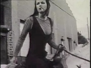 Kembra Pfahler as Sugarlips, leader of the Ponies Gang. Gang Girls 2000