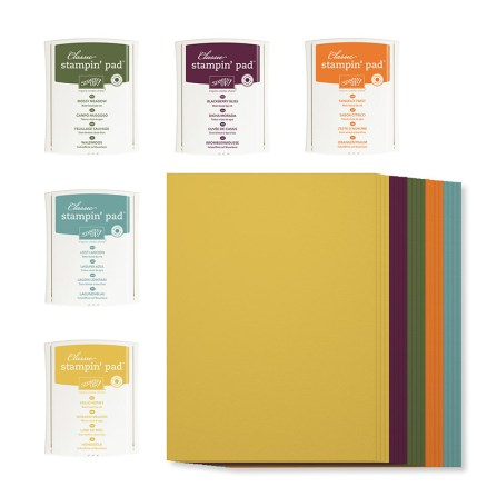Stampin' Up! In Colours 2014-2016 Ink Pad & Cardstock Pack