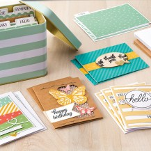 Tin of Cards Project Kit - Stampin' Up!