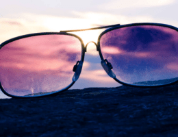 rose colored glasses