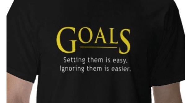goal setting funny