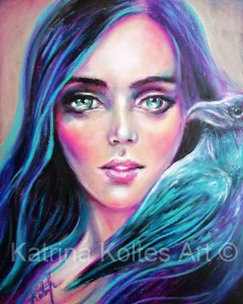 Whispering raven