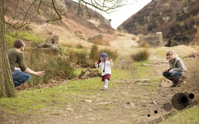 Family Shoot at White Coppice near Chorley 25/03/18