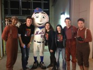 Warhorse sings Take Me Out to the Ballgame with Mets