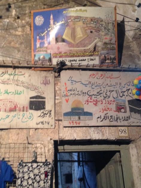 Falafelstand in der Altstadt von Jerusalem