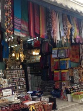 Der Markt in der Altstadt von Jerusalem
