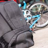 Sport, Arbeit und Wochenende in einer Tasche