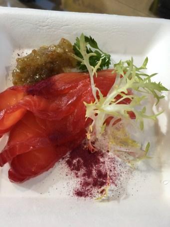 Rotgebeizter Lachs von Brasserie Colette