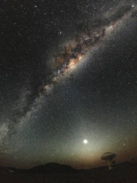 Fasziniender Blick in die Milchstrasse - im ESO Planetaruim in Garching