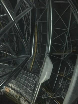 Ein Blick in das größte Teleskop der Welt