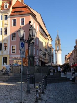 Der Marktplatz von Bautzen