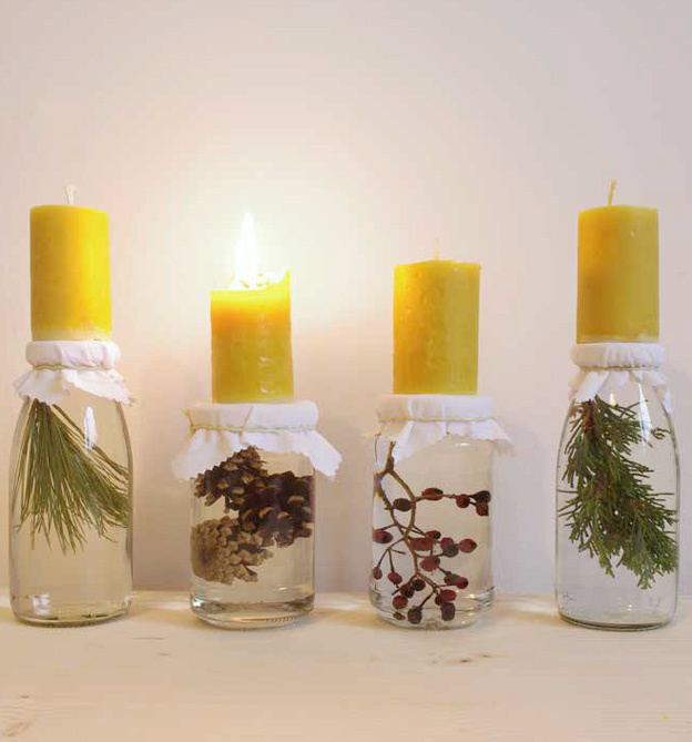 DIY Zero Waste Adventskranz