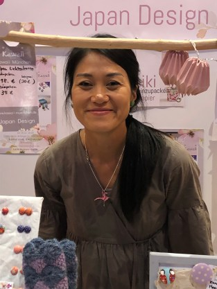 Yuki, die Künstlerin von Kawaii