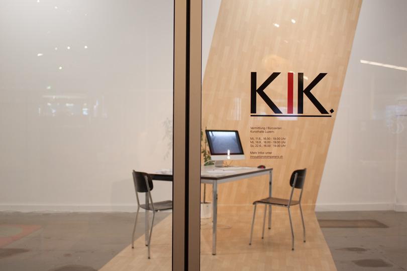 Ausstellungsansicht Kunsthalle Luzern