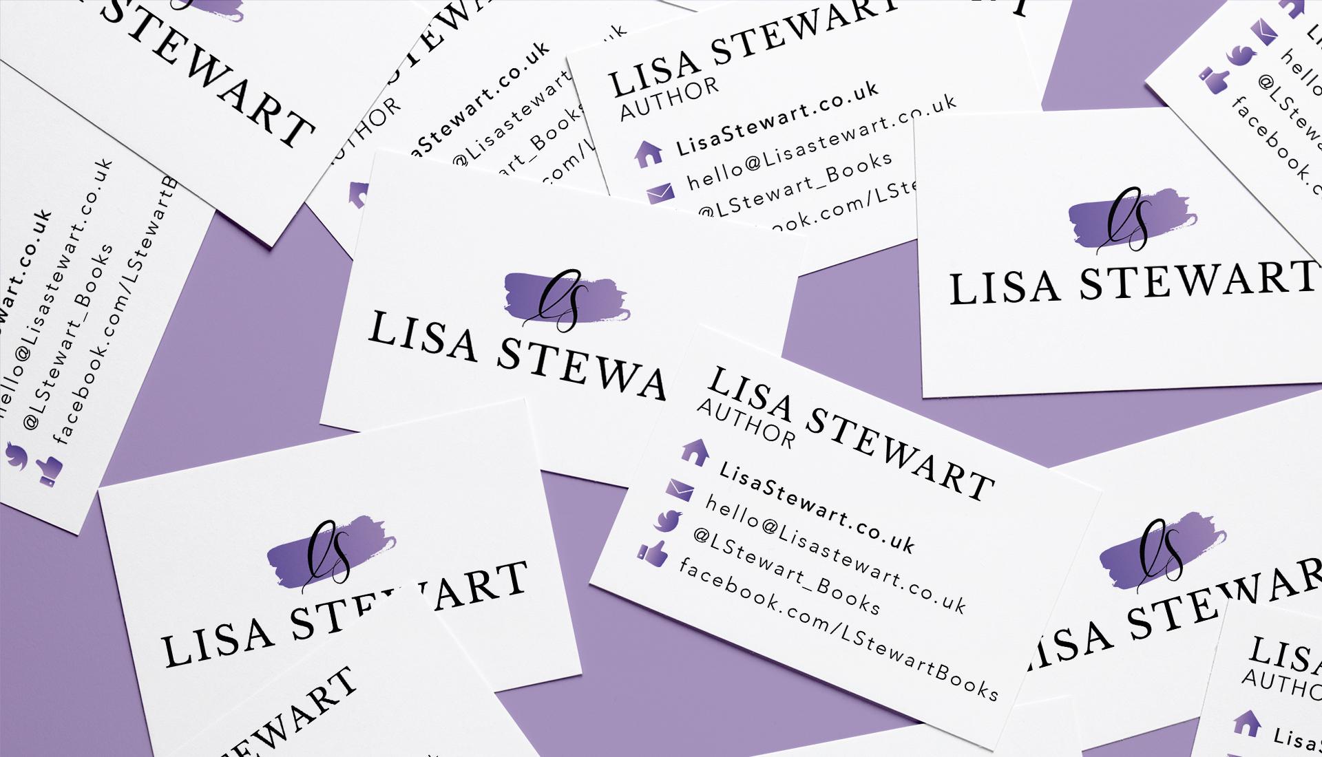 Business Card Lisa Stewart