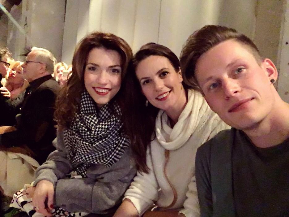 Mit Annett Möller während der Lena Hoschek Show A/W 17/18 ©katrin-lars.net