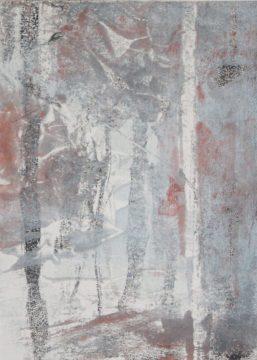 WOODLAND 27, 2015 Monotypie 18 x 13 cm