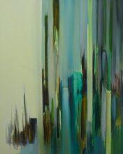VERTIKAL 25, 2016 Öl auf Leinwand 81 x 65 cm