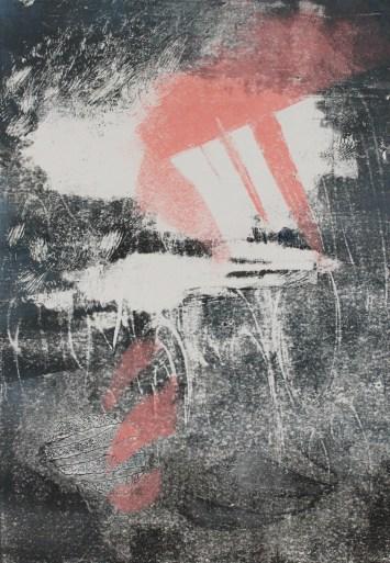 NORDIC DREAM, 2017 Monotype 30 x 40 cm