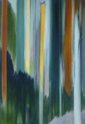 ZWISCHENRAUM 2, 2017 Öl auf Leinwand 85 x 55 cm