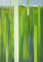 ZWISCHENRAUM 3, 2017 Öl auf Leinwand 85 x 55 cm